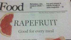 Bad Headline