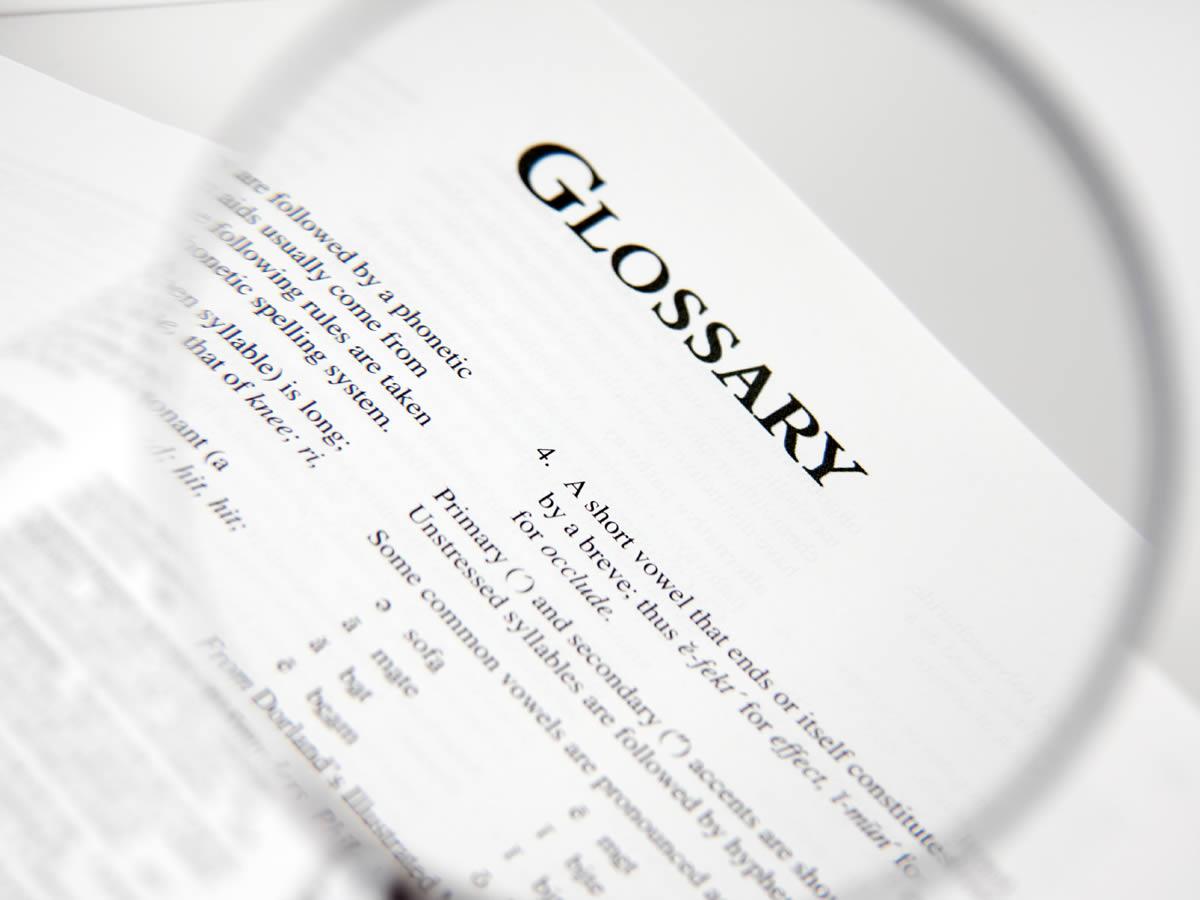 Traffic Term Glossary