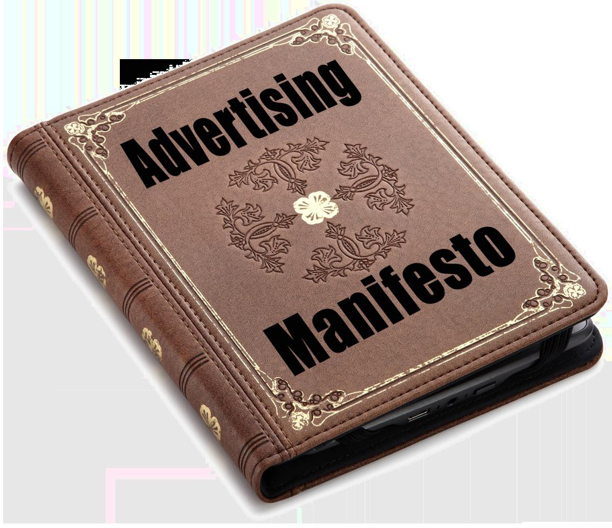 Advertising Manifesto